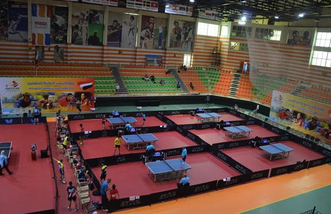 بطولة مصر الدولية لتنس الطاولة بشرم الشيخ