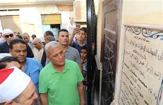محافظ المنوفية يفتتح تجديدات مسجد الشهيد أنيس نصر البمبى بقرية بشتامي| صور