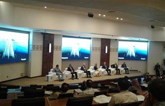 """بدء الجلسة اﻷولى لمؤتمر """"مصر تستطيع بالاستثمار والتنمية"""" لمناقشة ملف تنمية إفريقيا"""