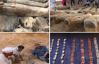 اكتشافات جديدة لوزارة الآثار بشهر أكتوبر.. تعرف عليها| صور