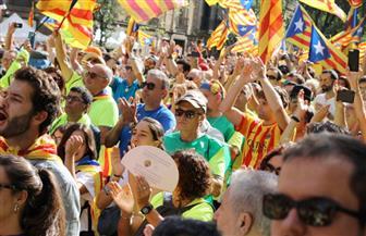 انفصاليو كتالونيا يحتجون ضد إسبانيا لليوم الثالث على التوالي