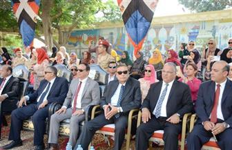 نائب محافظ الإسماعيلية يشهد  طابور عرض احتفالات المحافظة بالعيد القومي |صور