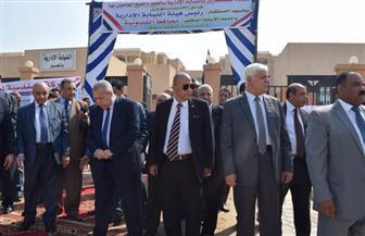 رئيس النيابة الإدارية يفتتح مقر الهيئة بمدينة العبور |صور