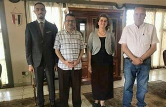 سفارتنا في بوروندي تستقبل أطباء المستشفى المصري - البوروندي