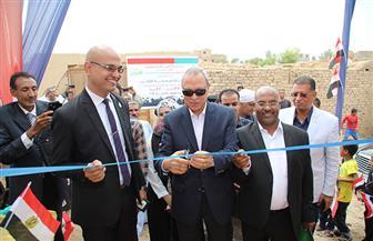 محافظ قنا يشهد افتتاح إعادة إعمار 60 منزلا بمركز قوص | صور