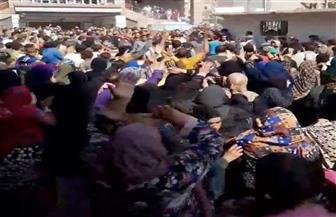 تشييع جنازة قتيل تلبانة.. وأهالي القرية يطالبون بالقصاص