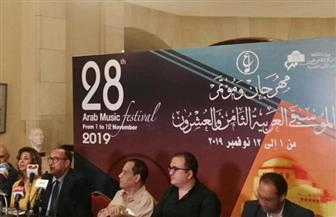 12 مكرما بالدورة الـ28 لمهرجان الموسيقى العربية.. على رأسهم منير وفاروق جويدة ومي فاروق وريهام عبد الحكيم