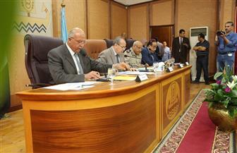 محافظ كفر الشيخ يترأس المجلس التنفيذي للمحافظة | صور