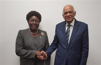 علي عبد العال يلتقي برئيسة البرلماني الأوغندي ورئيس مجلس الشيوخ الكيني