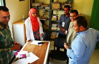 جامعة سوهاج تطلق قافلة طبية وبيطرية لقرية الخنانسة غرب المنشأة |صور