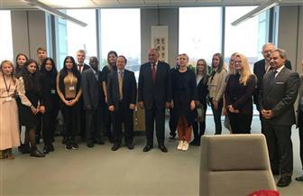 وزير الخارجية يبدأ زيارته للاتفيا آخر محطات جولته الأوروبية| صور