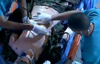 """بحضور الرئيس السيسي.. عرض محاكاة لعملية جراحية بحفل تخرج """"الطب العسكري"""""""