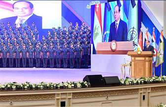 الرئيس السيسي: عمري ما جاملت حد طوال مدة خدمتي بالقوات المسلحة