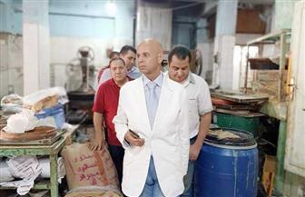 وكيل صحة الشرقية يقود حملة على مصانع الحلوى ويعدم 900 كيلو حلويات فاسدة | صور