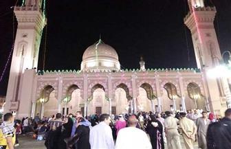توافد آلاف الزائرين على مولد السيد البدوي في طنطا | صور