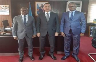السفير حمدي شعبان: مصر تحرص على توفير سبل الدعم للكونغو الديمقراطية