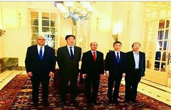 مساعد وزير الخارجية يبحث مع المبعوث الصيني للشرق الأوسط تفعيل الشراكة الإستراتيجية
