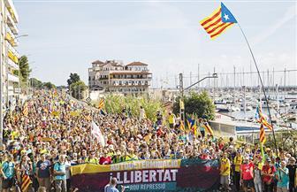 تجدد الاحتجاجات في إقليم كتالونيا للمطالبة بالانفصال عن إسبانيا