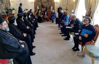 البابا تواضروس يزور مجلس الشيوخ البلجيكي |صور