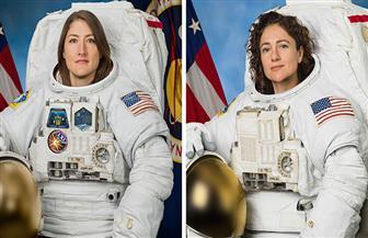 كوتش ومير يدخلان التاريخ ويبدآن أول مسيرة نسائية في الفضاء| صور وفيديو