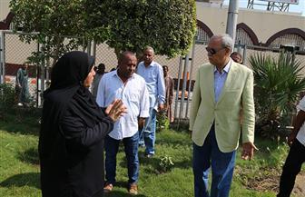 محافظ قنا يتفقد أعمال التطوير بمحيط مسجد سيدي عبد الرحيم القنائي