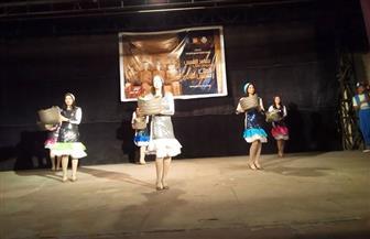 «فرقة بورسعيد» تقدم عروضا فنية على مسرح قصر ثقافة كوم أمبو