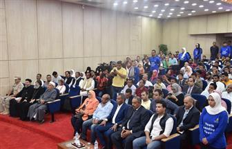 «الغرابلي» يفتتح مؤتمر شباب مطروح بديوان عام المحافظة | صور