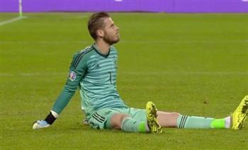 مدرب مانشستر يونايتد: إصابة دي خيا ليست خطيرة