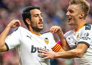 هدف باريخو يمنح فالنسيا التعادل أمام أتليتيكو بالدورى الإسبانى