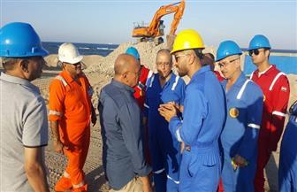 خالد حمدان في رأس شقير لمتابعة عمليات الإنتاج