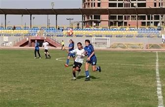 """جهاز """"منتخب كرة القدم النسائية"""" يتابع لقاء الجولة الأولى بالدوري"""