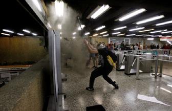 إشعال النيران بالعديد من محطات مترو الأنفاق في تشيلي وسط احتجاجات