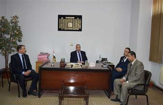 رئيس النيابة الإدارية يتفقد عددا من نيابات القاهرة| صور