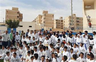 محافظ مطروح ووفد وزاري يتفقدان القرية الأوليمبية لاستغلالها لصالح الأندية |صور