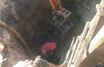 محافظ كفرالشيخ يؤكد إصلاح خط مياه الشرب بقرية المشارقة بسيدي سالم |صور
