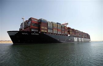 أكبر سفينة حاويات في العالم تعبر قناة السويس بحمولة 234 ألف طن