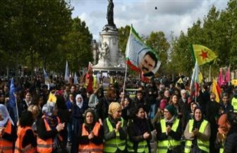 تظاهرة جديدة في باريس تضامنا مع أكراد سوريا