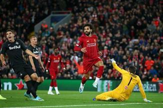 """صلاح """"الحاسم"""" يمنح ليفربول 3 نقاط غالية في مباراة مثيرة ضد سالزبورج"""