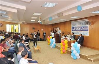 رئيس جامعة كفر الشيخ يشهد حفل استقبال الطلاب الجدد بكلية الحاسبات والمعلومات|صور