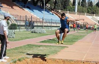 انطلاق بطولة الجمهورية لألعاب القوى تحت 18 سنة باستاد بنها الرياضى