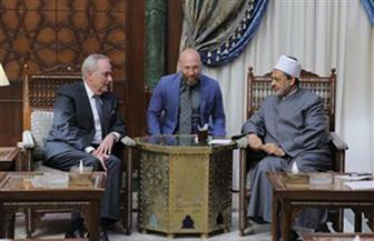 شيخ الأزهر: نتطلع للتعاون في تغيير الصورة النمطية الخاطئة بين الشعوب الإسلامية والشعب الأمريكي