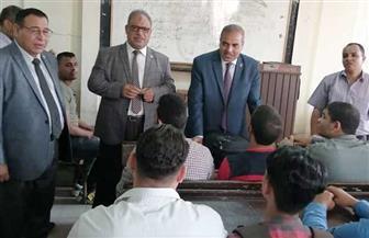 رئيس جامعة الأزهر يتفقد سير العملية التعليمية بكليات قطاع الدراسة| صور