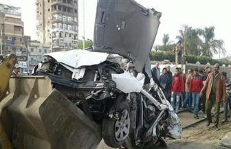 مصرع 3 مواطنين في حادث تصادم بين قطار وسيارة ملاكي بالبحيرة