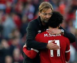 """مدرب ليفربول يعلق على غياب """"صلاح"""" ويحدد موعد عودته المحتملة"""