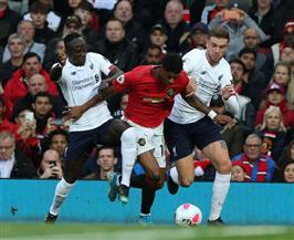 مانشستر يونايتد يوقف سلسلة انتصارات ليفربول بالتعادل في غياب محمد صلاح