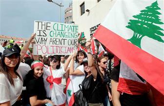 آلاف اللبنانيين يواصلون التظاهر ضد إجراءات التقشف الحكومية | صور