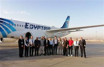 """""""مصر للطيران"""" تتسلم ثالث طائراتها من طراز 300-A 220"""