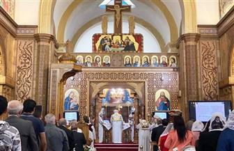 البابا تواضروس يصلي القداس في مارسيليا   صور