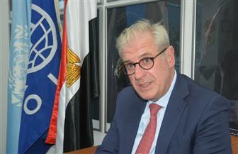 مدير مكتب منظمة الهجرة الدولية بالقاهرة لـ «الأهرام»: نحارب الهجرة غير المشروعة بالتنمية