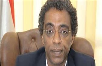 تكريم الدكتور أحمد عواض بمهرجان الفنون والفلكلور الأفروصيني